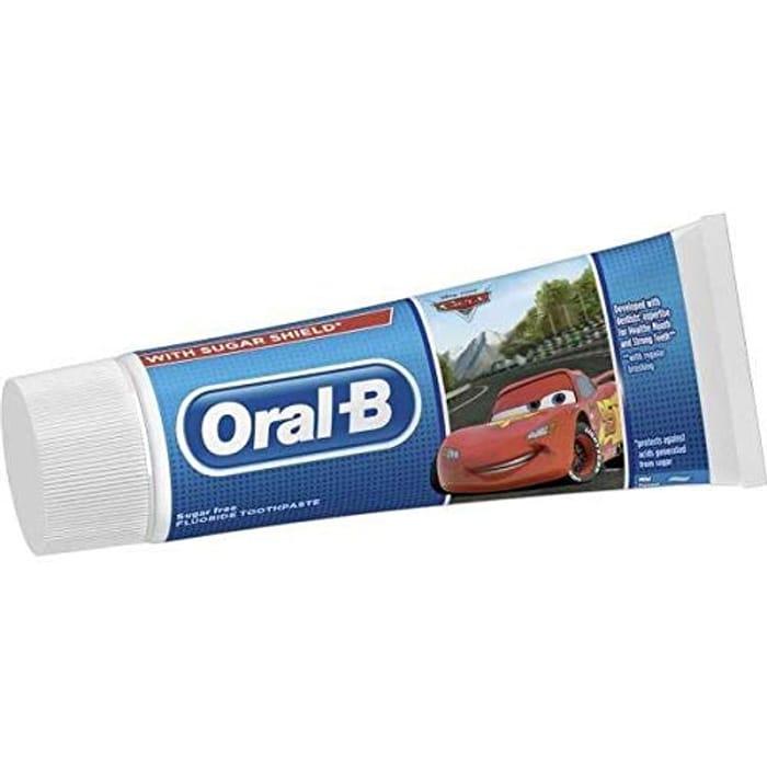 (Pre-Order) Oral-B Kids 3+Yrs Disney Cars Toothpaste Mild Flavour