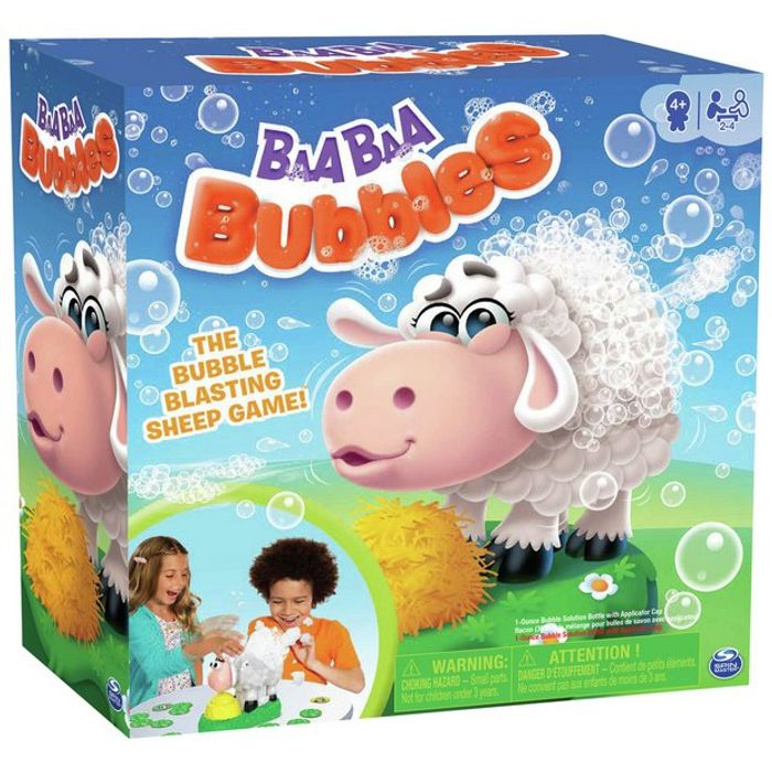 Baa Baa Bubbles Game - HALF PRICE