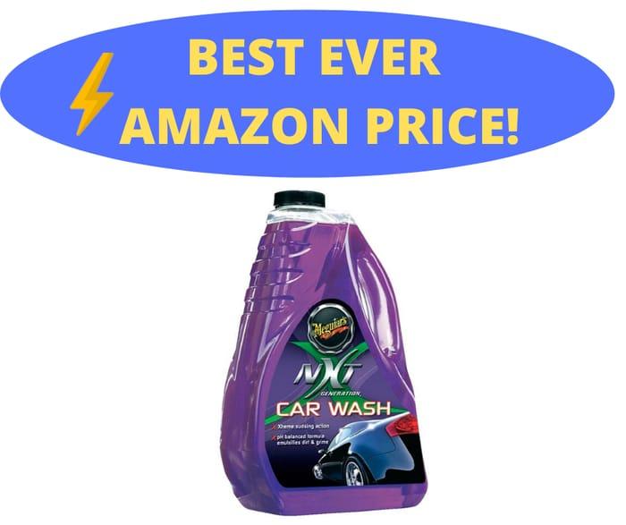 Meguiar's NXT Generation Car Wash 1.8L for Hard Water Area's & pH Balanced