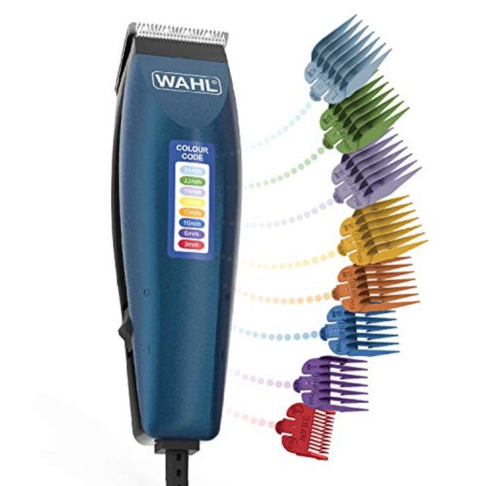 In Stock! Wahl Hair Clippers for Men, Colour Pro Corded Head Shaver