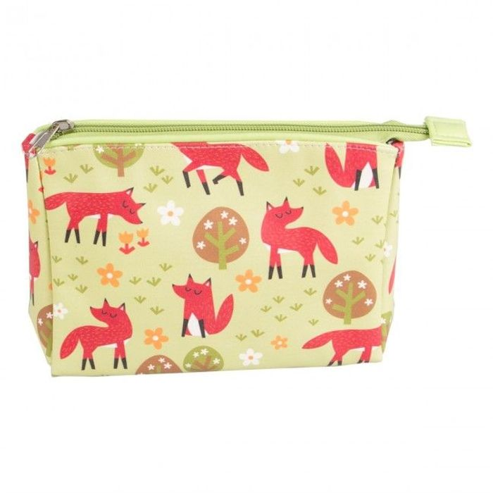 Sass and Belle Spring Forest Fox Makeup Bag
