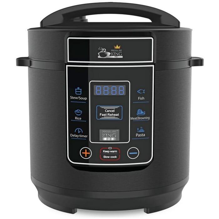 Pressure King Pro 3L Pressure Cooker - Black Click & Collect