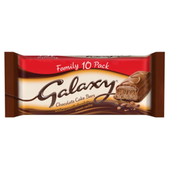 Galaxy Cake Bars