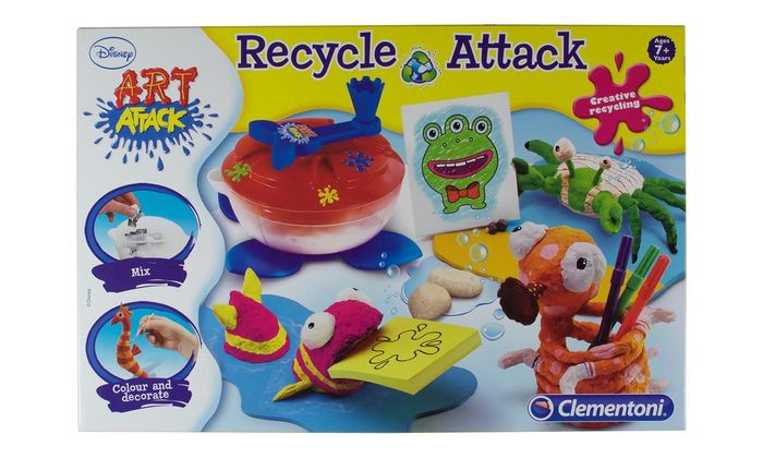 Disney Art Attack Recycle Attack Kids Activity Play Set on Sale £29.99 to £11.99