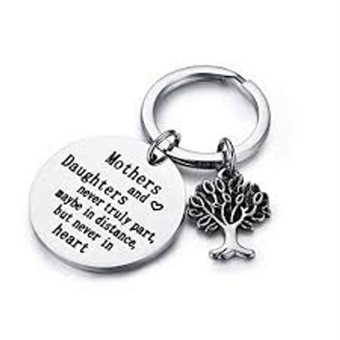 Best Price! Mothers and Daughters Never Truly Part, Maybe in Distance Keyring