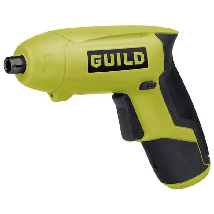 Cheap Guild Cordless Li-Ion Screwdriver Only £10!