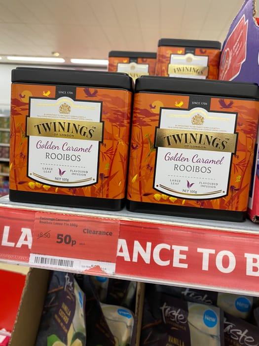 Twinings Loose Leaf Caramel Rooibos Tea