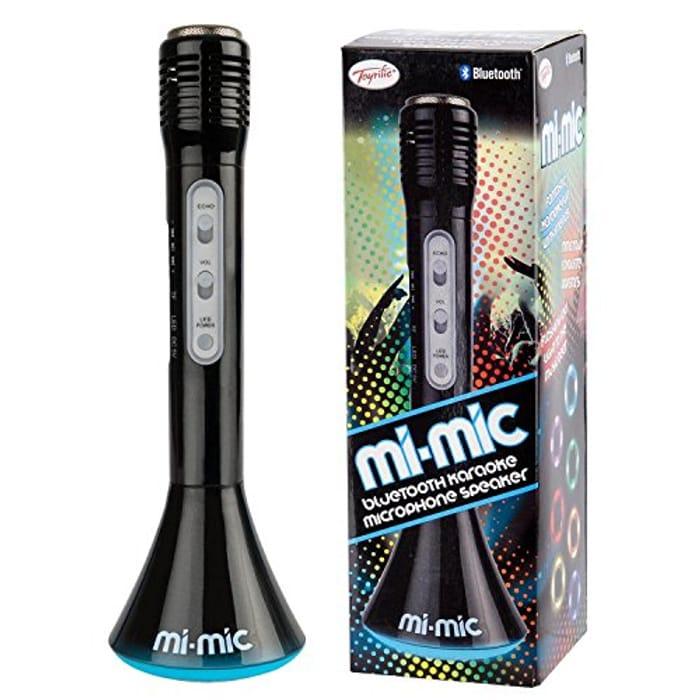 Mi-Mic Kids Karaoke Microphone Speaker with Wireless Bluetooth