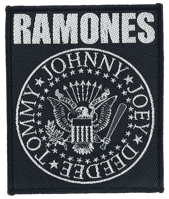 Ramones Patch - Classic Seal