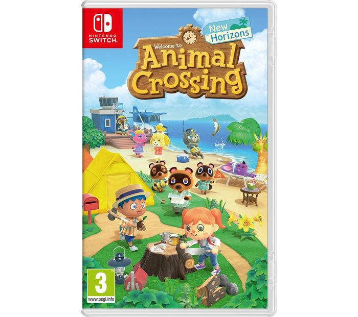 Animal Crossing New Horizons £39.99 W/code at Currys PC World