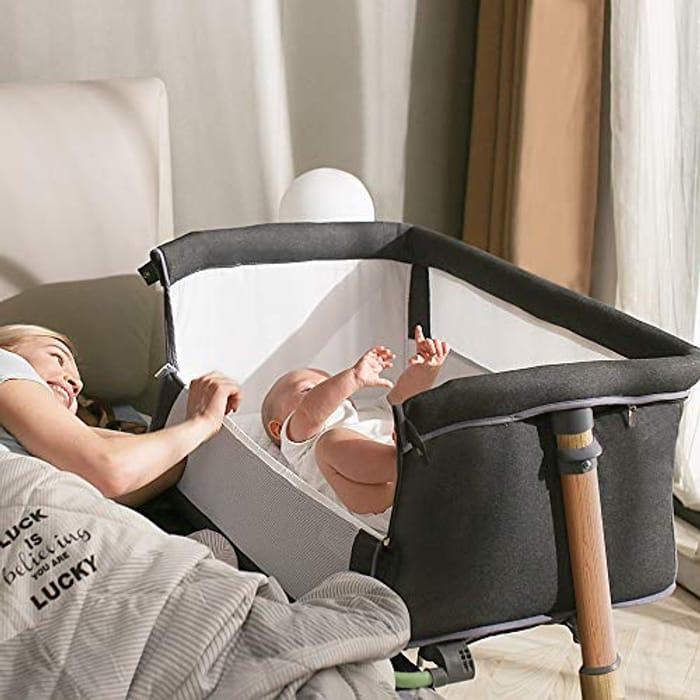 Baby Crib,Baby Bassinet Bedside Sleeper