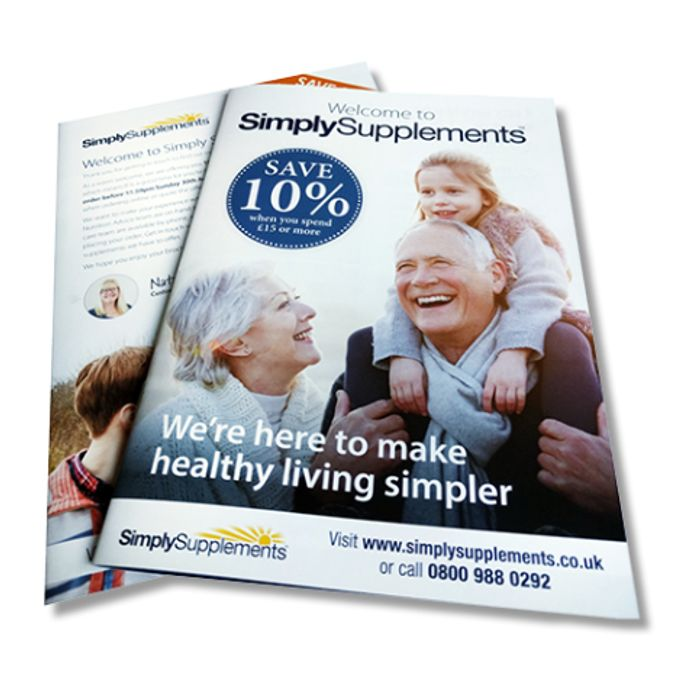 Get A Brochure From Simply Supplements FREE BY POST *Use Link On Listing
