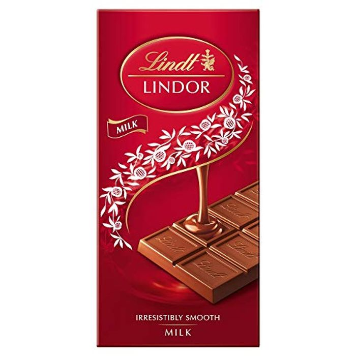Best Price! Lindt Lindor Milk Chocolate Bar - 100 G