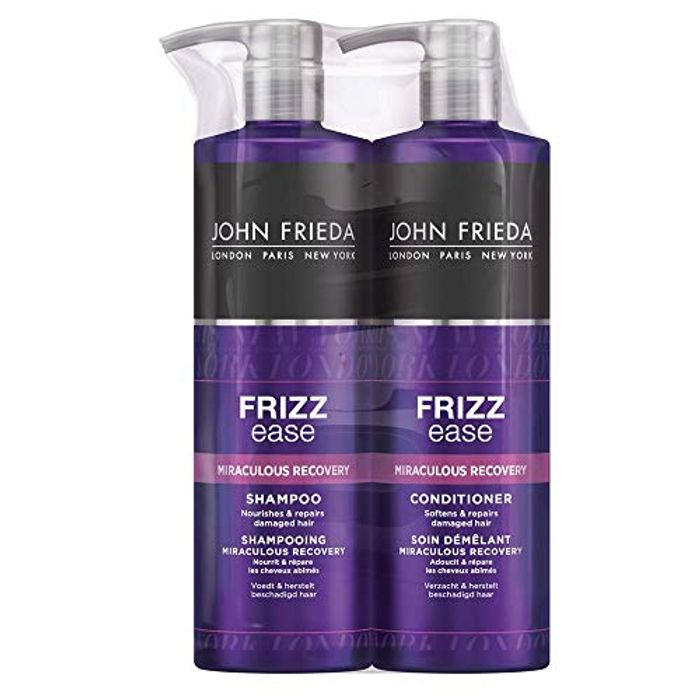 Shampoo and Conditioner Set for Dry and Damaged Hair, 2 X 500 Ml