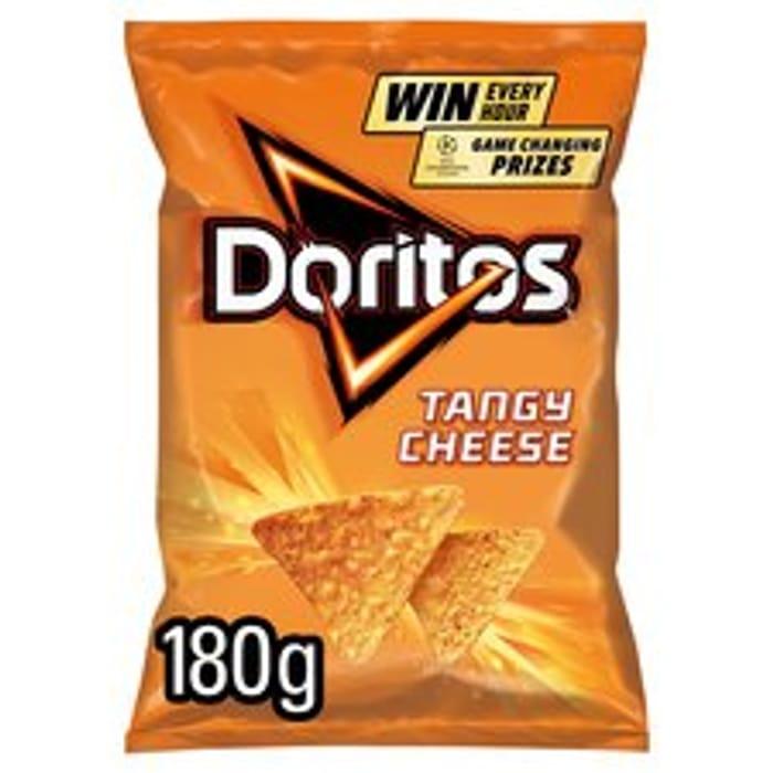 Doritos Tangy Cheese Tortilla Chips 180G