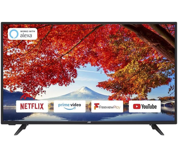 "*SAVE £50* JVC 40"" Smart Full HD LED TV Freeview HD with Freeview Play"
