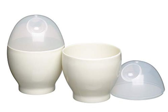 Kitchen Craft Microwave Egg Boiler Set, 2 Pieces