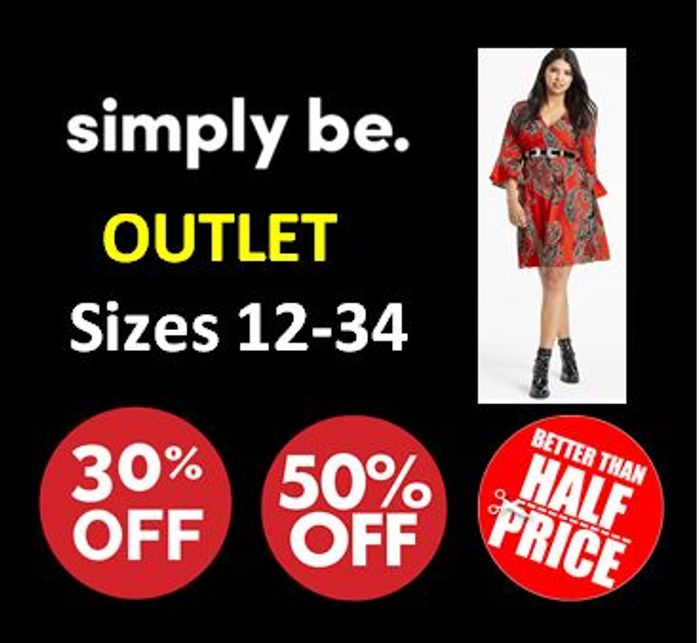 SIMPLY BE OUTLET - over 1,000 Items under £10!