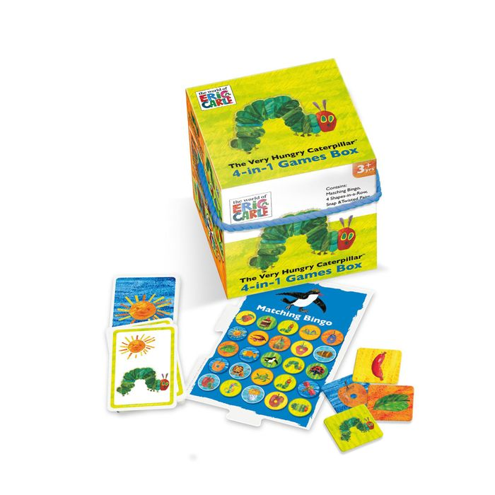 The Very Hungry Caterpillar 4-in-1 Games Box