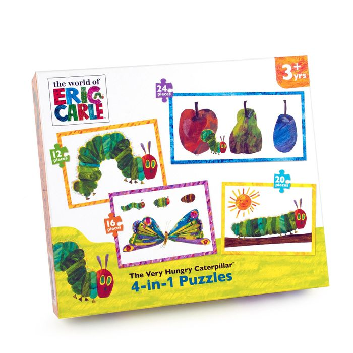 The Very Hungry Caterpillar Puzzles Free Delivery