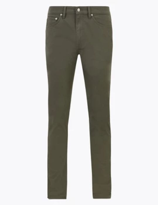 Skinny Fit 5 Pocket Stretch Trousers