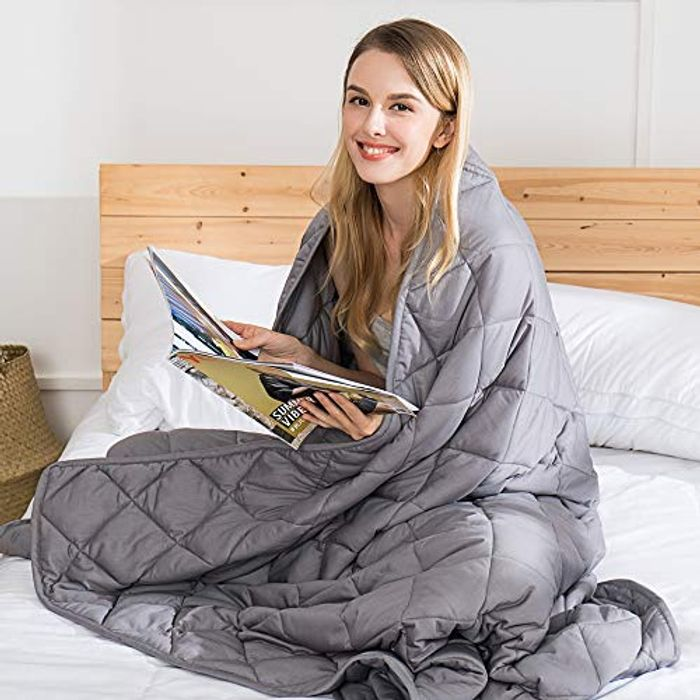 Special Offer - DEAL STACK - Jaymag Weighted Blanket for Adults 9kg (20lbs)