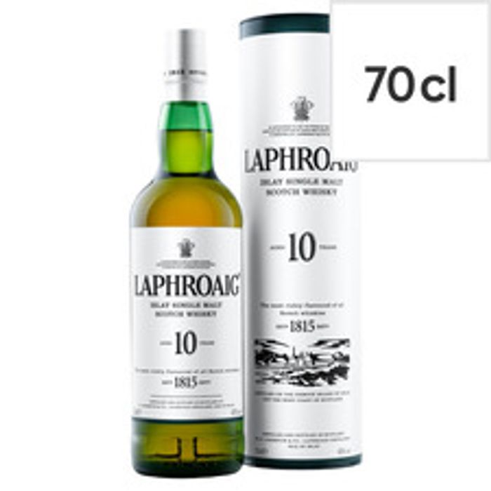 Laphroaig Single Malt Whisky 10Yr 70Cl - Smoky