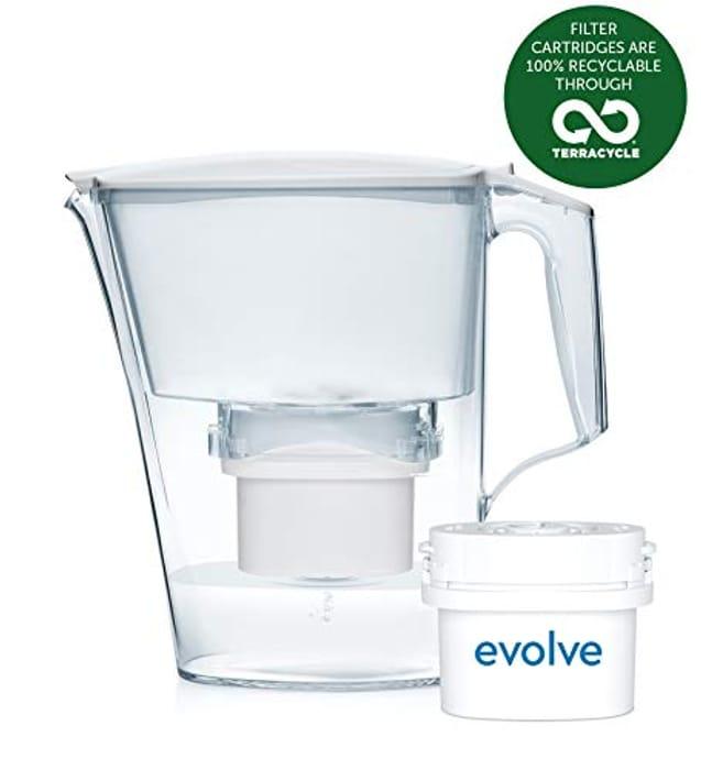 Aqua Optima Liscia Water Jug + 1 Evolve 30 Day Filter
