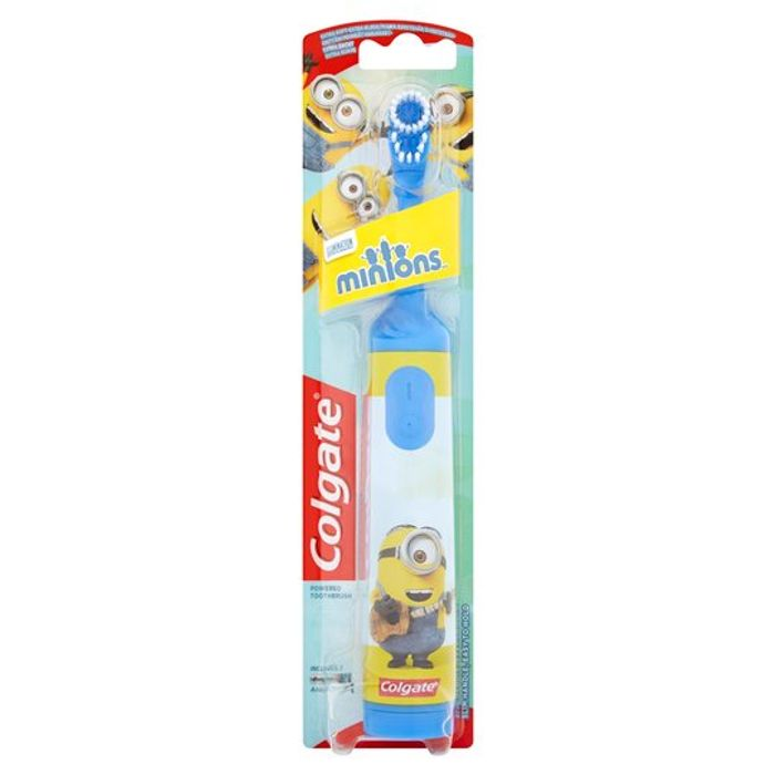 Cheap Colgate Kids Battery Toothbrush - Various Designs with 50% Discount!