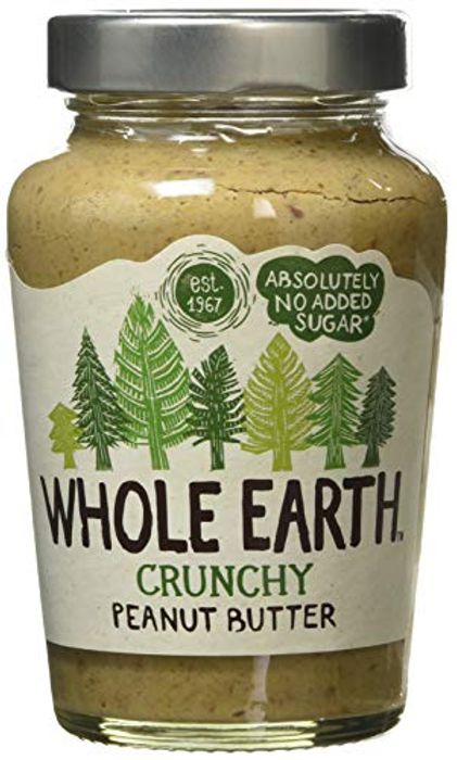 Whole Earth Crunchy Peanut Butter 454g £2