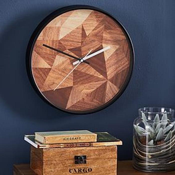 Geo Studio Wall Clock