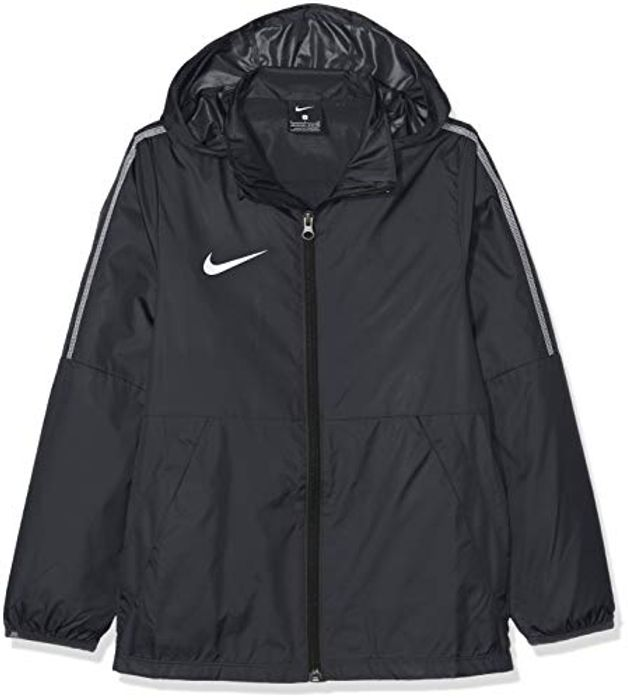 Kids Dry Park 18 Rain Jacket - Black/White/(White)