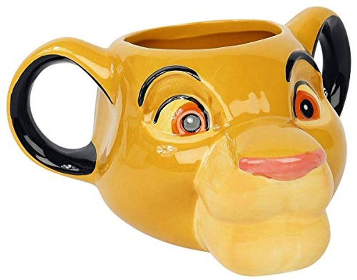 Paladone PP5039LK Simba Lion King Shaped Mug