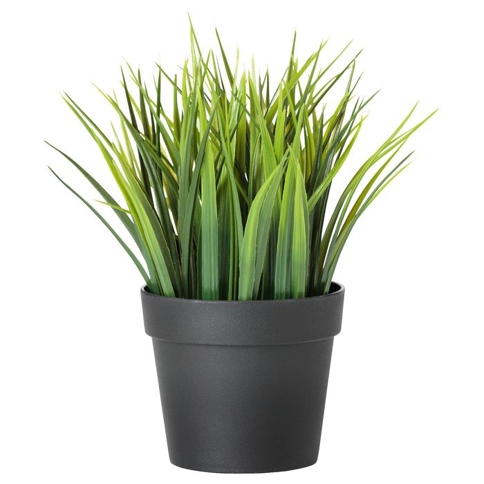 Artificial Potted Plant, In/outdoor Grass9 Cm - Only £3!