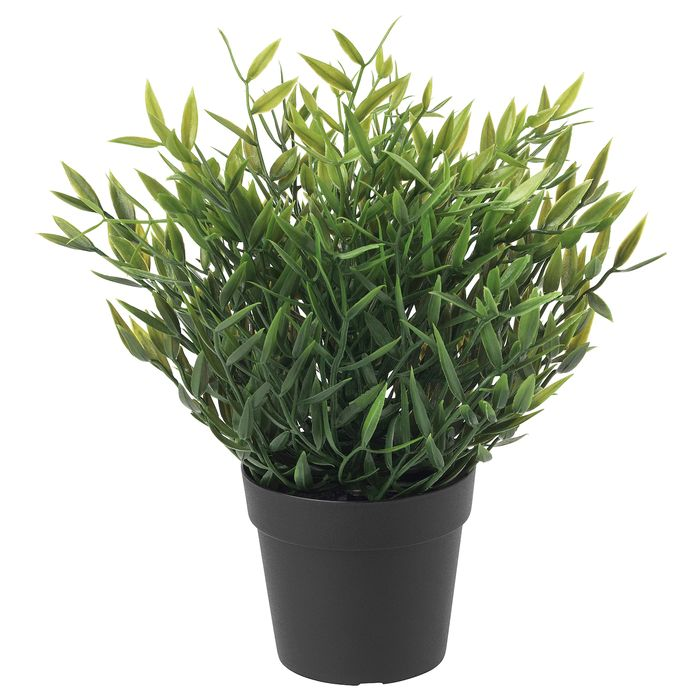 Artificial Potted Plant, In/outdoor House Bamboo9 Cm