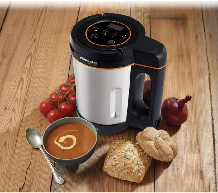 *SAVE £10* MORPHY RICHARDS Compact Soup Maker - Stainless Steel
