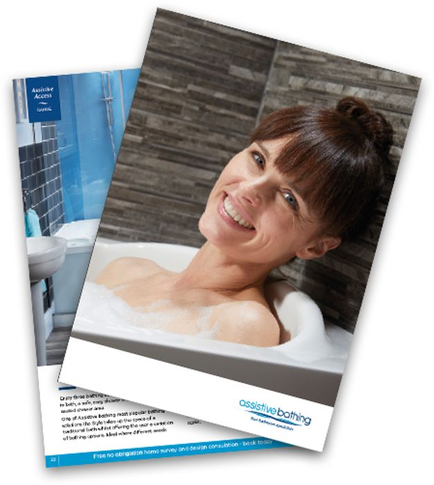Free Brochure for Assistive Bathrooms (Walk-in Baths and Showers)