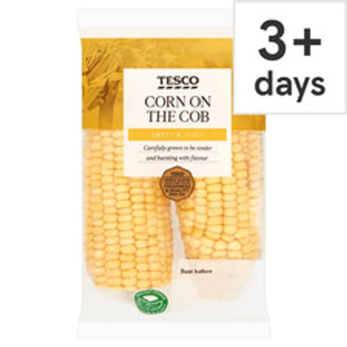 Tesco Corn on the Cob Twinpack