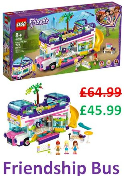 SAVE £19 - LEGO FRIENDS Friendship Bus - FREE DELIVERY