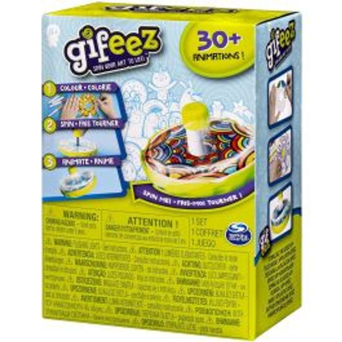 Gifeez Spinning GIF Art Studio