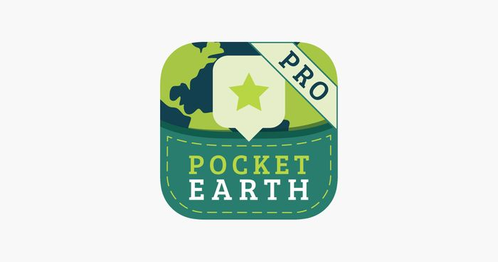 Pocket Earth PRO (Offline Maps, Travel Directions & Travel Guides) (App Store)