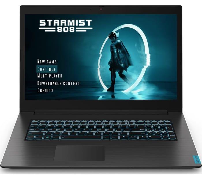 "LENOVO IdeaPad L340 17.3"" Intel Core I5 GTX 1650 Gaming Laptop - 256 GB SSD"
