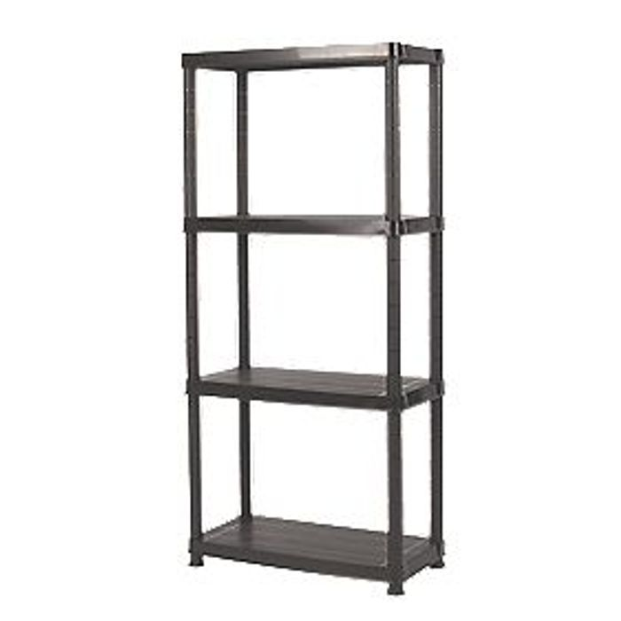 Solid Plastic Shelving - £14.99 or 2 for £25 @Screwfix