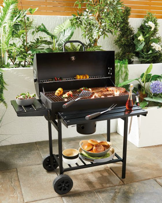 Oil Drum Charcoal BBQ - 3 Year Guarantee - £49.99 Delivered