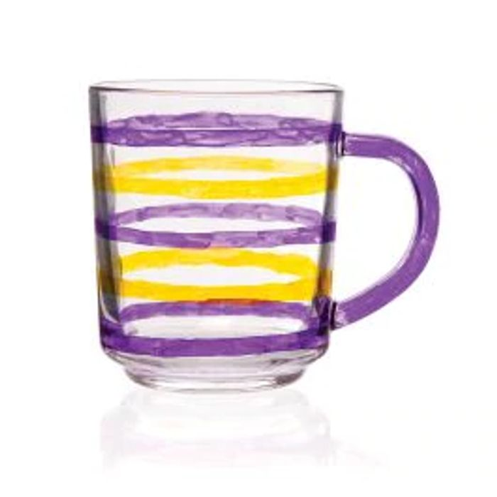 Box of 4 Glass Mugs to Decorate from Baker Ross