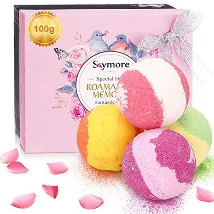 31% off Skymore Bath Bombs Gift Set with Discount Code!