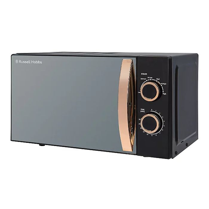 Russell Hobbs 17L Rose Gold Manual Microwave - save £13.96