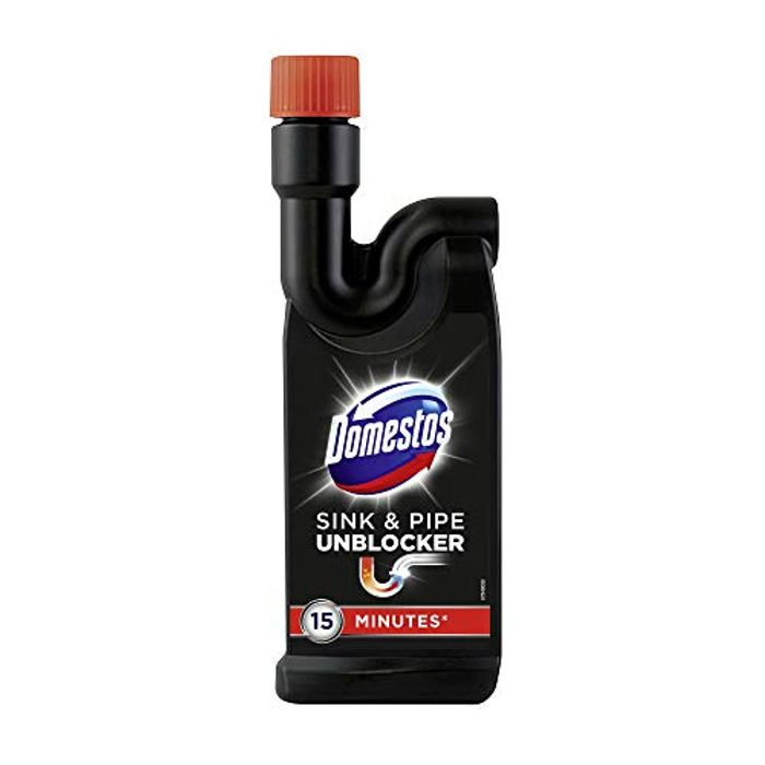 Pantry Deal: Domestos 15 Minute Toilet, Shower, Sink and Pipe Unblocker