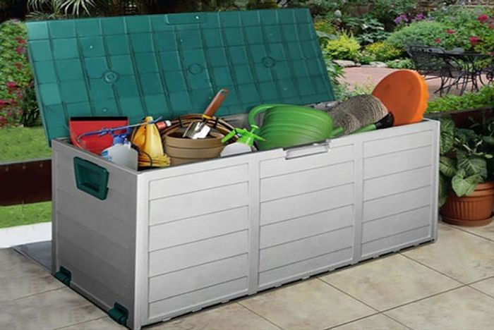 Cheap Heavy Duty Extra Large Waterproof Outdoor Storage Box Only £39!