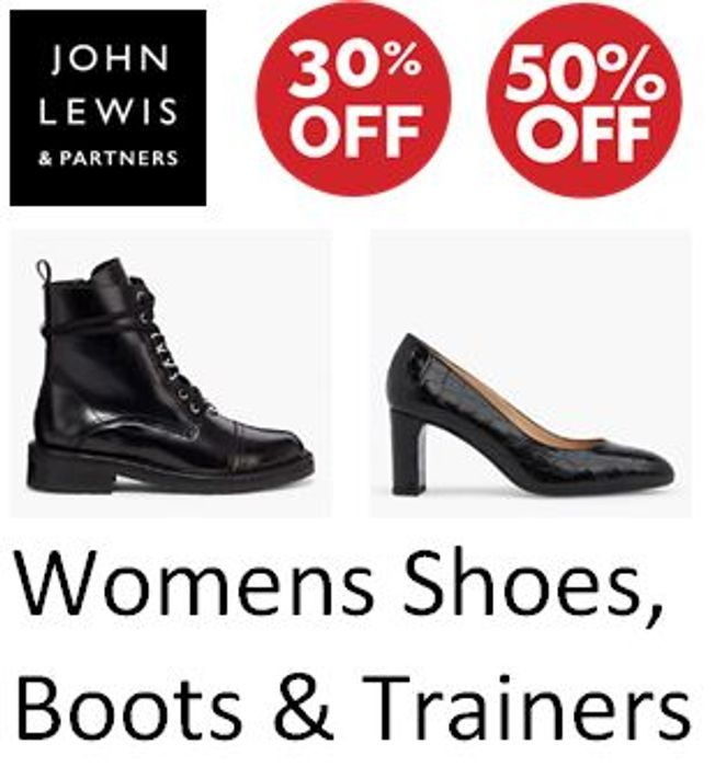 Special Offer - Up to 50% off Women's Shoes, Sandals, Boots & Trainers